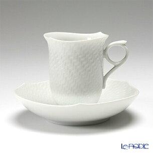 マイセン ホワイト コーヒー ソーサー