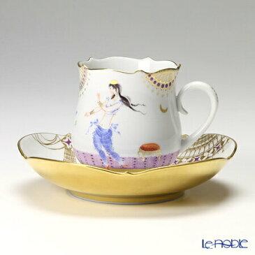 マイセン (Meissen) アラビアンナイト 680710/23582 コーヒーカップ&ソーサー 150cc Motiv No.2【楽ギフ_包装選択】【楽ギフ_のし宛書】 ティーカップ 食器