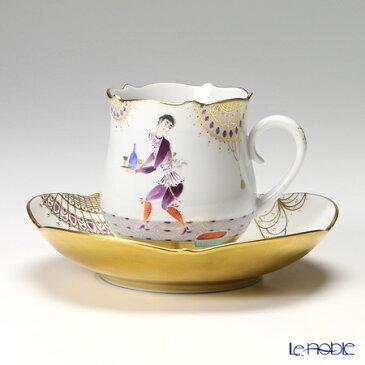 マイセン (Meissen) アラビアンナイト 680710/23582 コーヒーカップ&ソーサー 150cc Motiv No.3【楽ギフ_包装選択】【楽ギフ_のし宛書】 ティーカップ 食器