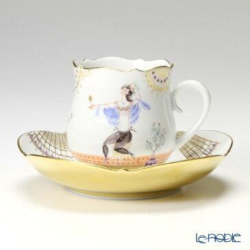 マイセン (Meissen) アラビアンナイト 680710/23582 コーヒーカップ&ソーサー 150cc Motiv No.6【楽ギフ_包装選択】【楽ギフ_のし宛書】 ティーカップ 食器