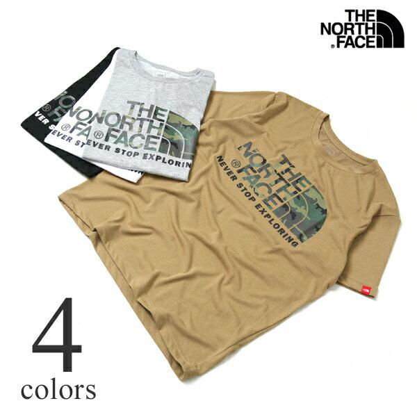 ノースフェイス Tシャツ THE NORTH FACE S/S CAMOUFLAGE LOGO TEE カモフラージュロゴ半袖Tシャツ NT31622