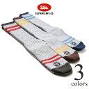 UES ウエス 杢ソックス SX-2 靴下 ラインソックス スニーカーソックス ブーツソックス 丈夫 厚手 ボーダー