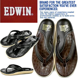 EDWIN EW8017 Island slippers men's sandal thong Sandals men's-[fs3gm]