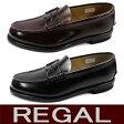 リーガル 靴 メンズ ビジネスシューズ コインローファー REGAL 2177 ○【101-13vttc】【 送料無料 】ローファー 通学