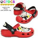 ショッピングcrocs クロックス キッズ ミッキー クロッグ crocs creative clog Mickey paint splatter clog 15856 ミッキー ペイント スプラッター クロッグ 【正規品】【OGOG-33tnth】●