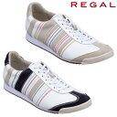リーガル REGAL メンズ レザー スニーカー レースアップ 本革 靴 66MR AD