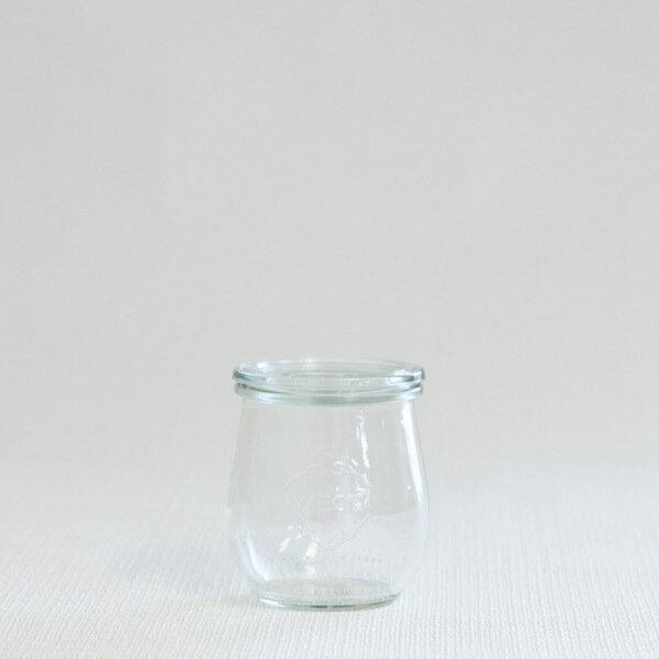 weck キャニスター TULIP SHAPE 200ml(WE-762)【キャニスター ガラス ガラスキャニスター 保存容器】【北欧 ナチュラル おしゃれ カフェ 雑貨】