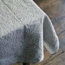 fog linen work(フォグリネンワーク) リネンテーブルクロスL グレーホワイトストライプGYWS【FOG リネン・エプロン・キッチンクロス・雑貨が満載!!】【北欧 ナチュラル おしゃれ カフェ 雑貨】