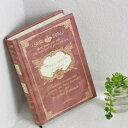 バロックブックノート ワインレッド