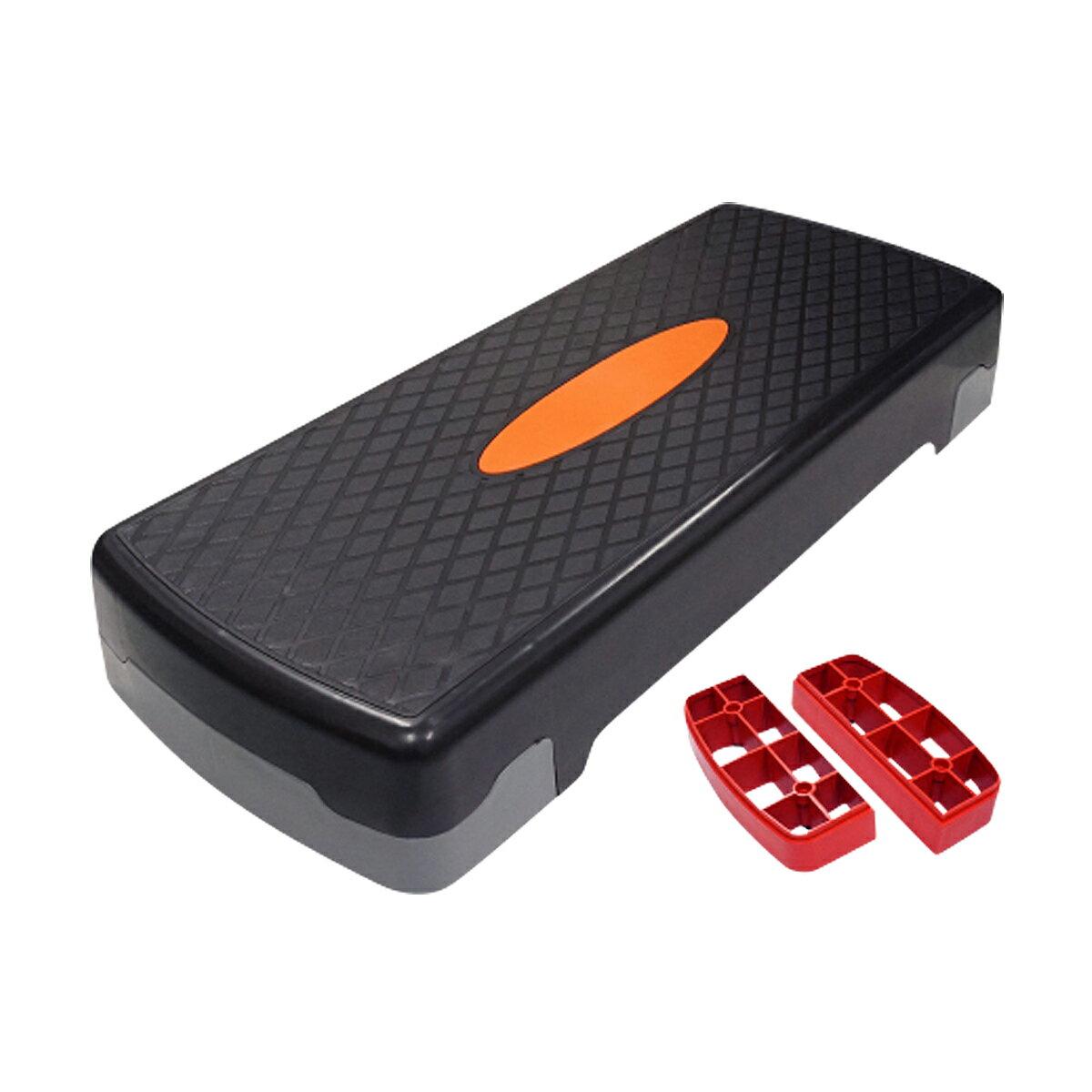踏み台昇降ステップ台昇降運動高さ調整10cm15cm幅68cm有酸素運動昇降台ダイエットエクササイズ
