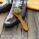 ジャーマンブラシ 馬毛 靴ブラシ 靴磨き COLUMBUS ...