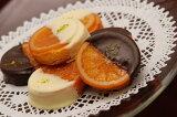 銀座スイーツ2種類のガレットオランジェの8個入り詰合せスイートチョコとホワイトチョコを食べ比べてみて下さい