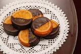 銀座スイーツ社長の発案から生まれたリキュール香るバレンシアオレンジとチョコレートの組合せガレットオランジェ8個入り 05P10Jan15