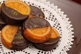銀座スイーツ社長の発案から生まれたリキュール香るバレンシアオレンジとチョコレートの組合せガレットオランジェ16個入り 05P11Apr15