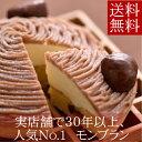 【送料無料!】実店舗で30年以上も人気No.1の看板ケーキ銀座ル・ブランの『モンブラン』5寸サイズ【...
