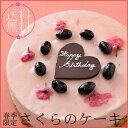 【季節限定!送料無料!】お届けは3月25日から!春の訪れをご自宅で感じられるケーキ『さくらのケーキ』【誕生日】【…