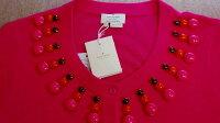 SALE!!KateSpadeケイトスペード小さいサイズ(2=Sサイズ)ドット織柄綿・シルク7分袖ショートジャケットアメリカのアウトレット直営店より直輸入