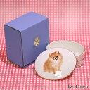 わんコレ ミニBOX ジュエリーBOX ポメラニアン(アクセサリーケース  キャンディーボックス 犬