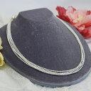極小 淡水真珠 ケシパール 5連 ネックレス 繊細で華やかなエレガントパール