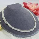 極小淡水真珠ケシパール5連ネックレス 繊細で華やかなエレガントパール