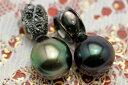 【特級ピーコック版!】10mm黒蝶真珠ペンダントトップ 凛と輝く存在感!ブラックでまとめたシックな大人のジュエリー!QUFNPU