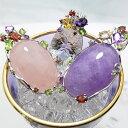 天然石 ペン� ントトップ 大粒の輝きのカラーストーンペン� ント  KA60