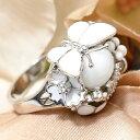 ROBERTO BRAVO White Dreams バタフライ ホワイト オニキス リング 17号 ロマンティックな白! ロベルトブラボー KA92 GM0126949