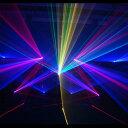 レーザープロジェクタ 3W RGB Animation Laser ILDA 対応 青 1500mW 赤 700mW 緑 800mW DMX対応 ビームテック