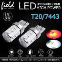 T20/7443型ダブル 23チップ ホワイト レッド LEDバルブ ハイパワー ウェッジ球 アルミヒートシンクボディ EPISTAR 5630チップ搭載