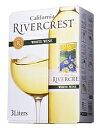 リバークレスト カリフォルニアホワイト バック・イン・ボックス 3L(1梱包は8個までになります。)