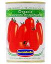 モンテベッロ(スピガドーロ) オーガニック(有機栽培) ホールトマト(丸ごと) 400g 1梱包48缶まで 西濃運輸 出荷不可 あす楽