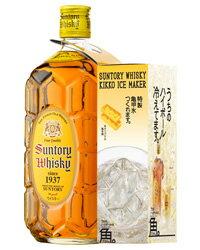 製氷機付きサントリーウイスキー 角瓶 40度 700ml