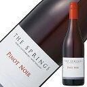 サザンバンダリーワインズザスプリングスピノノワール2018750mlニュージーランド赤ワイン