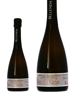 ベッレンダ プロセッコ ヴァルドッビアーデネ ブリュット スパークリングワイン イタリア