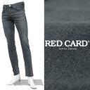 RED CARD / レッドカード / Rhythm / ストレッチ / グレーデニムパンツ / グレー Gray Used 62860akg-gy 200