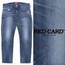 RED CARD / レッドカード / Rhythm Crop / ストレッチ / ブルー / クロップド / デニムパンツ / ジーンズ / 26867-kim / ブルー ミディアムユーズド 26867kim-bu 100