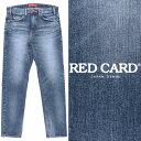 RED CARD / レッドカード / Ace kita / テーパード / デニムパンツ / ブルー MId Used 71806kim-bu100