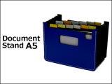 用蛇腹状式伸缩自如!自立型的卡片口袋sedia 文件台灯 (冒泡PP) A5尺寸/ card file /手风琴口袋/母亲节[sedia ドキュメントスタンド (発泡PP) A5サイズ / カードファイル /アコーディオンポケット/]