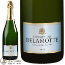 ドゥラモット ブリュット[NV]泡/シャンパン/辛口/白[750ml]Champagne Delamotte Brut NV