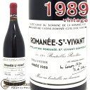 ドメーヌ・ド・ラ・ロマネ・コンティ[DRC]ロマネ・サン・ヴィヴァン・グラン・クリュ[1989] 赤ワイン/辛口 [750ml]Domaine de la Romanee Conti[DRC]omanee St Vivant Grand Cru 1989