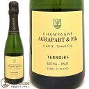アグラパールブラン・ド・ブラン・テロワール・エクストラ・ブリュット[NV]【ハーフサイズ】[正規品] シャンパン/辛口/白 [375ml]Agrapart et FilsBlanc de Blancs Terroirs Extra Brut Grand Cru Half NV