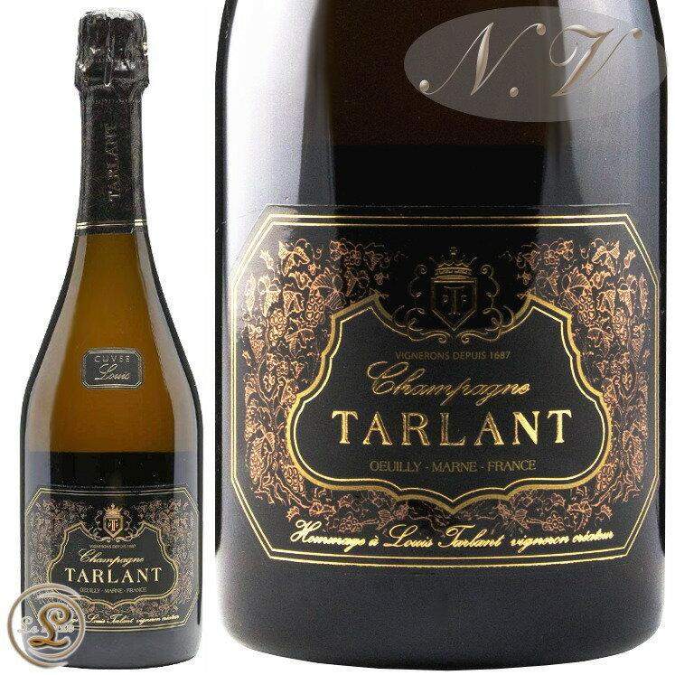 NV キュヴェ ルイ ヴィニフィエ アン フュ タルラン 正規品 発泡 シャンパン 白 辛口 750ml Tarlant Champagne Cuvee Louis Brut Vinifiee en Futs
