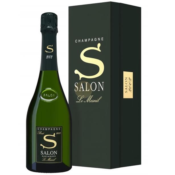 CHAMPAGNE SALON シャンパーニュ・サロン[2002] [正規品] 化粧箱入りシャンパン/辛口/白[750ml]