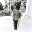 【OH済】サンローラン YSL オクタゴン グレー文字盤 ゴールド レディース 腕時計 時計【送料無料】【中古】