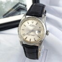 【仕上済/ベルト新品】ロレックス Rolex オイスター デイト シルバー メンズ 腕時計 時計【中古】【送料無料】