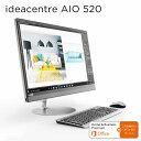 直販 デスクトップパソコン Officeあり:Lenovo ideacentre AIO 520 Corei7搭載(16GBメモリ/2TB HDD/256GB SSD/GeForce 940MX/27型 QHD..