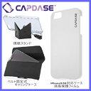 【値下げしました!!】iPhoneSE/5S/5対応 CAPDASE Case Touch White KPIH5-T102【手触りさらさら/薄型マットコートハードケース/ラバー調/ホワイト(白)/アイフォン5S/カバー/液晶保フィルム付き/視聴スタンド/ベルト キャリングケース/DM便送料無料】