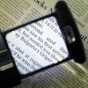 楽天レンズ屋虫めがね楽天市場店LEDライト付ポケットルーペ倍率約3倍ワンタッチ引き出し型自動点灯