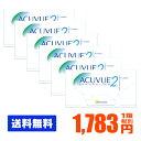 【送料無料】 2ウィークアキュビュー 6箱セット ( コンタ...