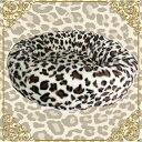 猫 ペッド 犬 ベッド 犬用 猫用 ベッド ペットハウス 冬 小型犬 あったか ベッド 犬 猫 ベッド 犬 猫 ベッド 犬 猫 ベッド 犬 猫 ベッド 犬 猫 ベッド 犬 猫 ベッドペットベッド ラウンドタイプ ヒョウ柄(オセロット)アイボリー